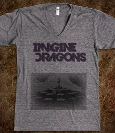 Imagine Dragons Radioactive V-Neck Tee, seriously  considering getting this