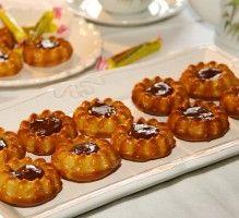 Recette - Petits moelleux aux pommes, ganache aux Carambar - Notée 4/5 par les internautes