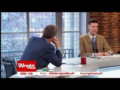Jamie in The Wright Stuff