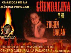 La Música Del Garage: GUENDALINA Y SU FOGON BACAN
