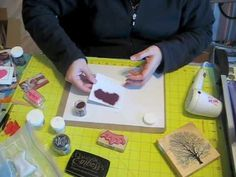 ▶ Heat Embossing Tutorial - YouTube