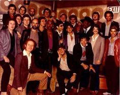 Bruce Springsteen and others at Steve Van Zandt's bachelor party in E Street Band, Bruce Springsteen, Men Looks, How To Look Pretty, Boss, Lillehammer, Musicians, Van, Party