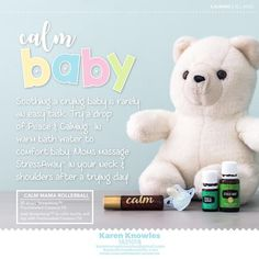 My website will tell you all you need to know about Essential Oils and how to get started with Young Living! Essential Oils For Babies, Essential Oil Safety, Best Essential Oils, Young Living Essential Oils, Calming Oils, Soothing Baby, Baby Bath Time, Young Living Oils, Baby Oil