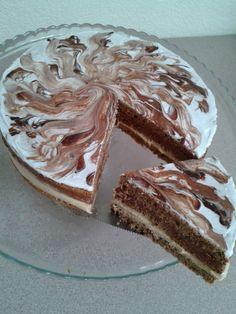 Torta Parfait de dulce de leche y chocolate