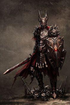 m Paladin Plate Helm Shield Sword Cape NE knight armor d&d Fantasy Male, Fantasy Armor, Medieval Fantasy, Dark Fantasy, Fantasy Team, Death Knight, Knight Armor, Dragon Knight, Character Inspiration