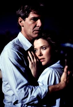 Harrison Ford and Annette Bening in Regarding Henry directed by Mike Nichols, 1991