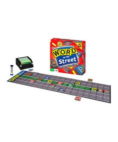 Word On The Street Game by Out of the Box Publishing on #zulily today! $16.99