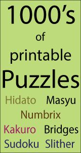 Free printable Sudoku puzzles for children and all you want to know about Sudoku, the rules, the different games and great links to Sudoku websites. Great for maths skills.
