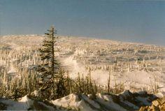 newfoundland & labrador cities photo | Labrador City, Canada: The mountain outside Lab City