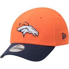 b9eced092a5 Toddler Denver Broncos New Era Orange Navy Team Classic 39THIRTY Flex Hat