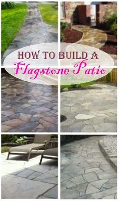 How to Build a Flagstone Patio - Flagstone patios are elegant yet they still man., How to Build a Flagstone Patio - Flagstone patios are elegant yet they still man. How to Build a Flagstone Patio - Flagstone patios are elegant yet . Gazebo, Pergola Patio, Pergola Plans, Diy Patio, Backyard Patio, Pergola Ideas, Pergola Cover, Pergola Swing, Outdoor Landscaping