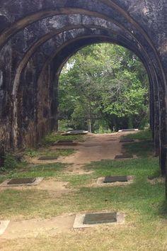 Arcos do Castelo de Garcia D'Ávila