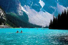 Summer Lake, Banff, Alberta, Canada