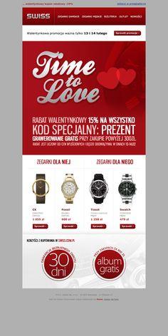 Walentynkowa propozycja Swiss.