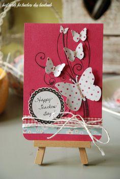 Handmade Teachers Day Cards, Teachers Day Card Design, Greeting Cards For Teachers, Teachers Day Greetings, Teachers Day Gifts, Teacher Appreciation Cards, Teacher Cards, Handmade Invitation Cards, Greeting Cards Handmade