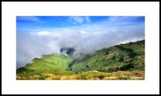 Framed fine art photography - Mountains around the Pico Ruivo, Madeira. Photo: Josef Fojtik - www.joseffojtik.com - https://www.facebook.com/Fineartphotoprints