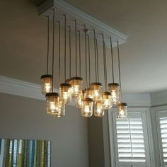 Mason-Jar-Chandelier-13 | Home Design, Garden & Architecture Blog Magazine