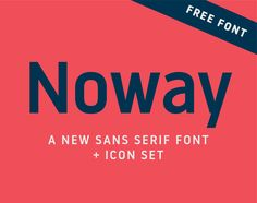 Vedi questo progetto @Behance: \u201cNoway font + icons\u201d https://www.behance.net/gallery/48509005/Noway-font-icons
