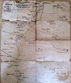 Image for Order of battle for 16th September 1916