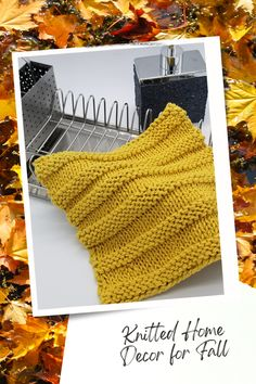 Knit So Easy quick & easy patterns = effortlessly cozy knitting. #KnittingPatterns #FallCrafts #Handknits Knitting Projects, Knitting Patterns, Knitting Ideas, Thanksgiving, Crafts, Design, Home Decor, Unique, Easy