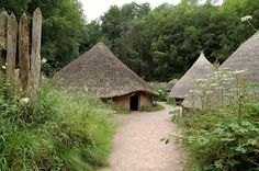 National Museum of Wales, St Fagans – Ancient huts
