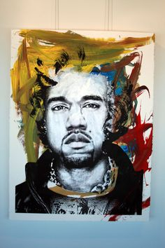 Kanye West, by Mr Brainwash.