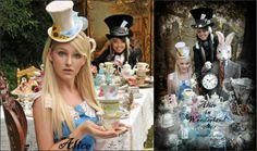 Alice in Wonderland / Mad Hatters Tea Party Ideas   yvonnebyattsfamilyfun
