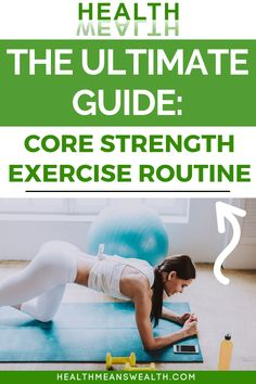 The topics we'll cover this week include all of the necessary components for developing a good core strength exercise routine. This post will teach you about biomechanics, how it applies to you, and how to assess your own core strength. In addition, I've included some of my favorite strength-training exercises to incorporate into your routine.