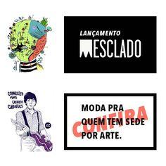 Lançamento Mesclado - Moda para quem tem sede por arte. #mesclado #rj #riodejaneiro #fridom
