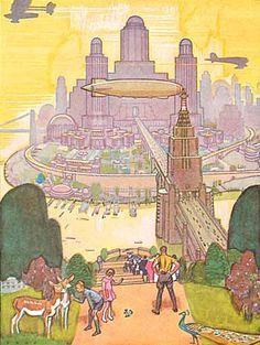 """Herbert Paus, """"The Future"""" (1932)"""