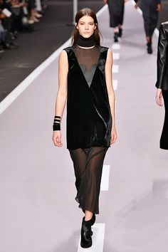Who Won PFW? It's A 41-Way Tie #refinery29  http://www.refinery29.com/paris-fashion-week#slide39  Viktor & Rolf nails sheer layers.
