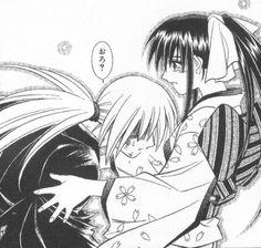 Kenshin and Kaoru~Into Her Arms