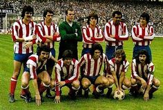 EQUIPOS DE FÚTBOL: ATLÉTICO DE MADRID Campeón de Liga 1976-77