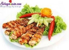 Hướng dẫn làm bạch tuộc nướng sốt cay lạ miệng - Sotaynauan.com