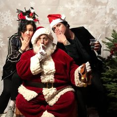 adrienne armstrong billie joe armstrong christmas 2017 xmas holiday parties greenday - Green Day Christmas