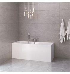 VikingBad Badekar Kvadrat 160 m/paneler Mål: (m/front & endepanel) Alcove, Bathtub, Bathroom, Standing Bath, Washroom, Bathtubs, Bath Tube, Full Bath, Bath