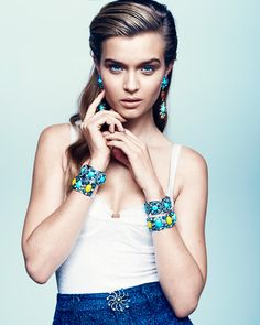 I'm in love with everything in @DANNIJO spring lookbook. #gorgeous #jewels