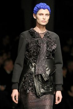 Plain Jane and the Wild Child: Fall 2013 Beauty (Beauty at Givenchy RTW Fall 2013)