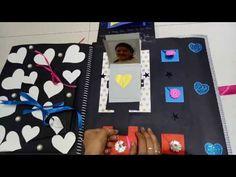 Scrapbook (couple Hemant n Bhagyshree )ArtsHub Handmads Birthday Scrapbook, Homemade Gifts, Anniversary Gifts, First Love, Blouse Designs, Couple, Youtube, Diy, Birthday Presents