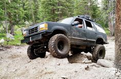 The Rock Rat Vehicle: 1987 Toyota Pickup Owner: Zach Malone, Bailey, CO Tires & Whee Lifted Ford Explorer, Commerce City, Rigs, Used Cars, Offroad, Cars For Sale, 4x4, Jeep, Monster Trucks