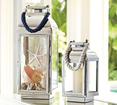Decor Look Alikes | Pottery Barn Peyton Rope Lantern $69 - $129 vs $45 @Birch Lane