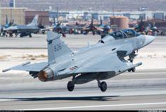 Saab Jas-39 Gripen Taking Off