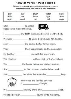 Printables Irregular Verbs Worksheet irregular verbs pinterest 3rd grade reading middle and esl grammar unit using regular printable worksheets