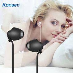 Sleeping Earphone Soft Silicone Headset with Microphone 3.5mm Save this photo on your board if you ❤️ it. Sleep Help, Good Sleep, Audio Music, Wearable Technology, Noise Cancelling, Headset, Consumer Electronics, Ears