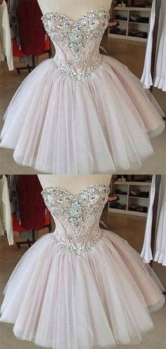 Homecoming DressTulle Homecoming DressesLace Homecoming GownsCute Party DressShort Prom DressElegant Sweet 16 Dress