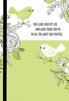 Thankful for You Mother's Day Card, , large