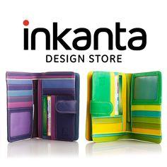 ¡Lúcete con tu amiga secreta! encuentra en Inkanta muchos detalles para el mes de amor y amistad, como ésta billetera elaborada en cuero.