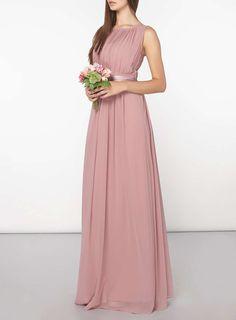 **Showcase Tall Pink Natalie Maxi Dress
