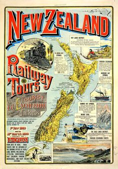New Zealand railway tours (1889)