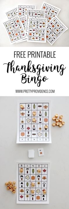 My kids LOVE this free printable Thanksgiving bingo! Such a great activity for class parties or for keeping the little ones busy while everyone preps food on Thanksgiving!